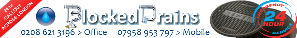 Blocked Drains, Emergency - FIXED PRICE £79 - Drain Clearance, North West London